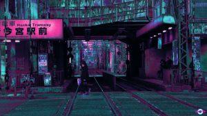 cyberpunk city wallpaper hd