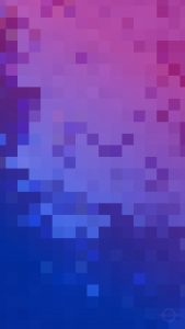 pixel art phone wallpaper blue and purple